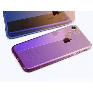iPhone 6 Plus zadný kryt Blue-ray gradient fialový
