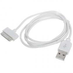 USB Data kabel pro iPhone 4 - bílý