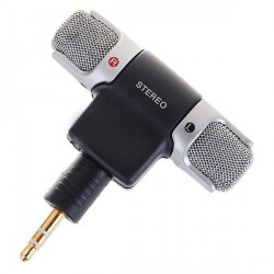 Mini Stereo mikrofon pro iPod / iPhone (3.5mm jack)